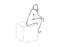 Sitzkissen, Sitzwürfel, Sitzsack