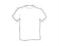 T-Shirts, Bekleidung mit Druck