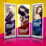 , Roll Up, L- & X- Banner